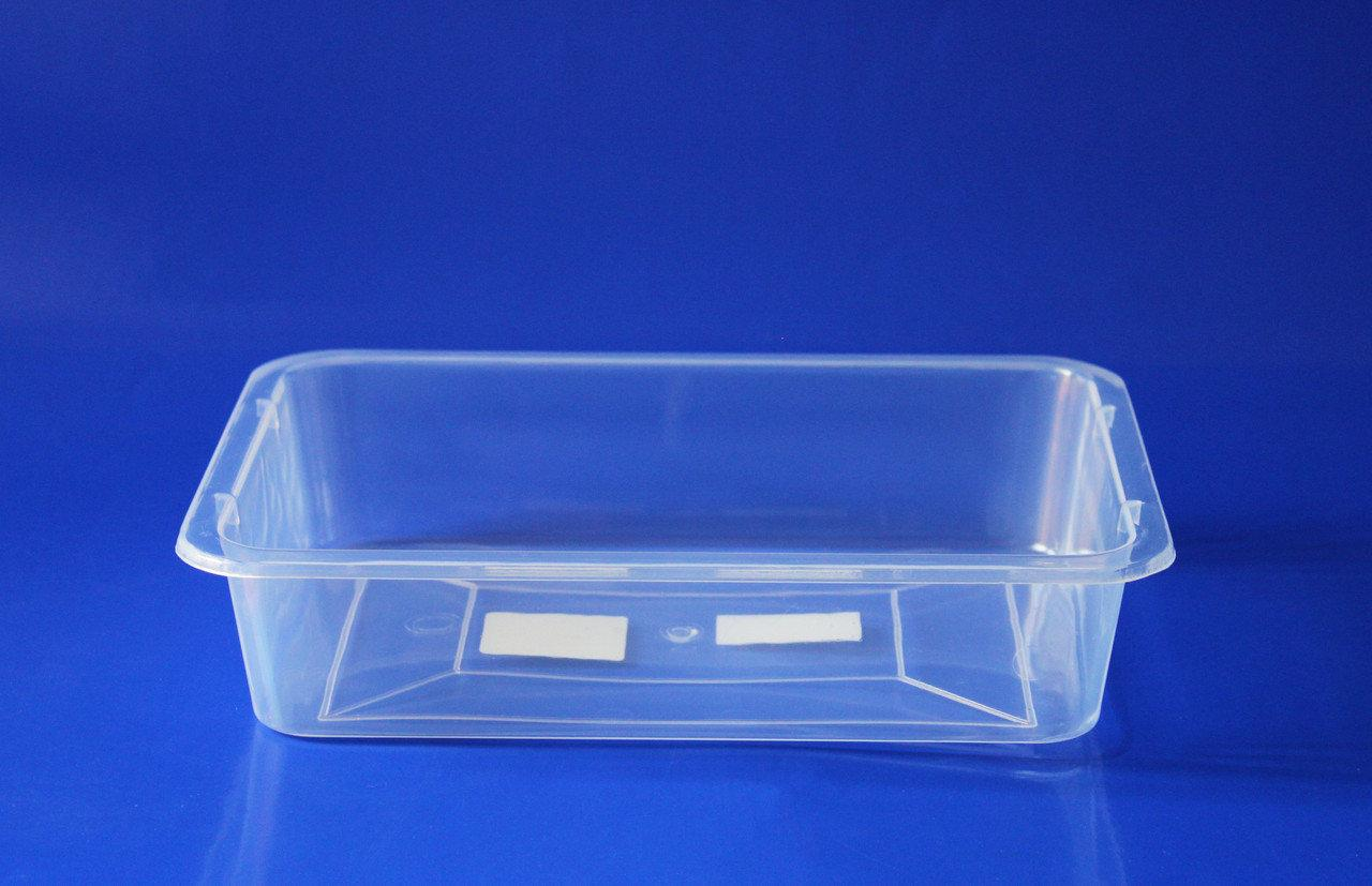 Лоток пищевой прозрачный Ал-Пластик №1 (2,6л)