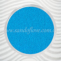 Блакитний кольоровий пісок для весільної церемонії пісочної, фото 1