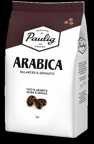 Кофе в зернах Paulig Arabica 1 кг ФинляндияНет в наличии