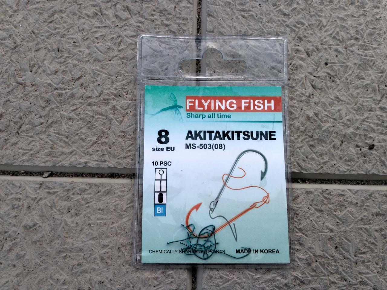 FLYING FISH AKITAKITSUNE #8