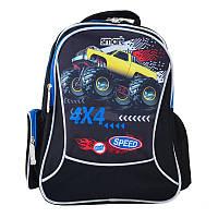 Рюкзак для школы Smart ZZ-03 Speed 4*4, для мальчиков, синий (557687), фото 1