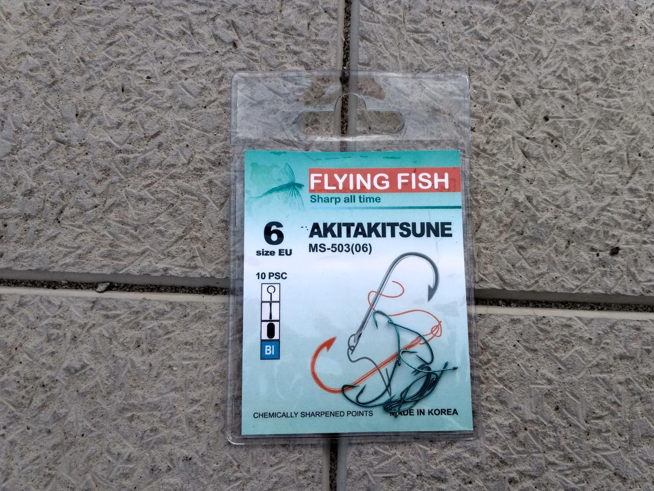 FLYING FISH AKITAKITSUNE №6