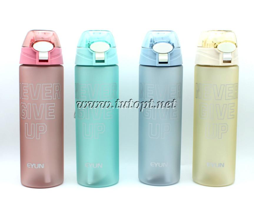 Спортивная бутылка для воды EYUN Never Give Up 700ml YY-215 246