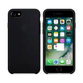 Чехол для iPhone 7/8 Silicone Case (Лучшая копия Apple) - черный