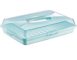 Тортовница прямоугольная Dunya Plastik 45х30 см