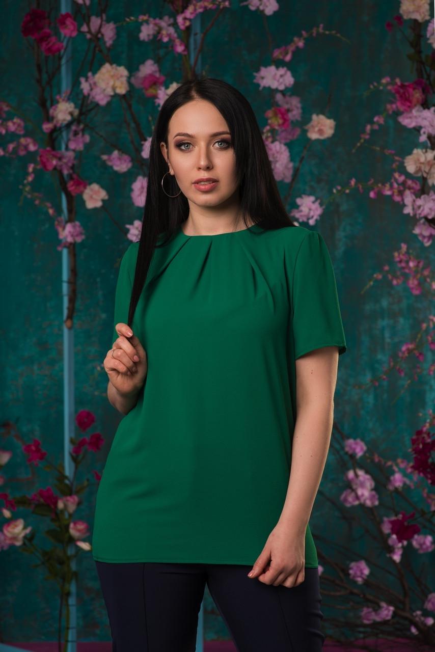 Ультрамодная блуза со складочками