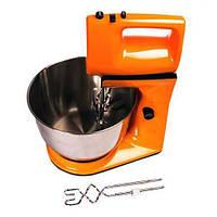 Кухонный миксер стационарный DSP КM-3015 качественный 300 Вт оранжевый корпус