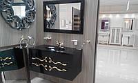 Мебельный набор DOMINIK 100 черный, ручки золото