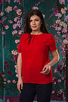 Ультрамодная блуза со складочками, фото 2