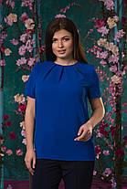 Ультрамодная блуза со складочками, фото 3