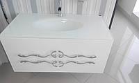 Мебельный набор DOMINIK 100 белый, ручки хром