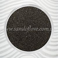 Черный цветной песок для свадебной песочной церемонии