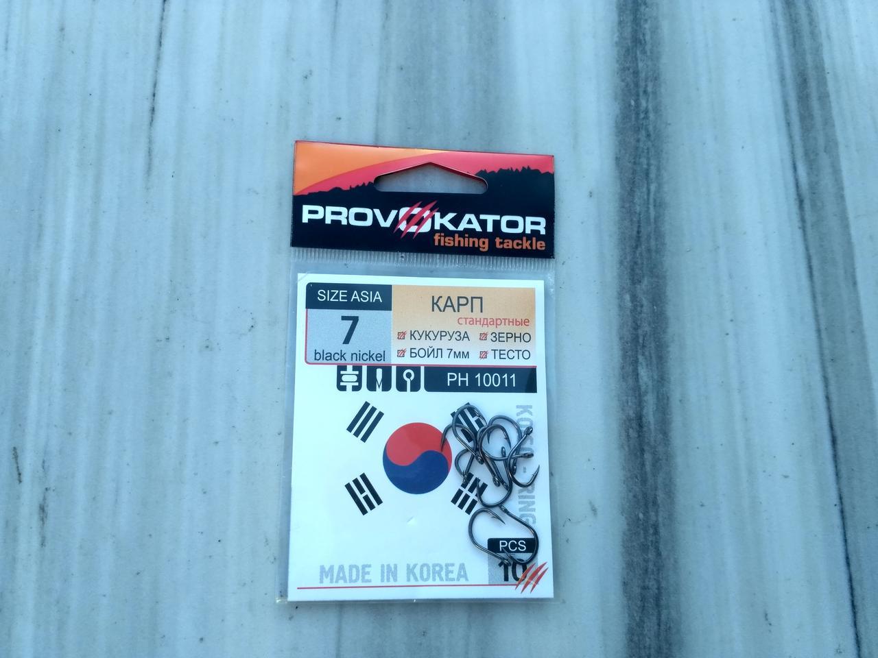 Крючки Provokator Koiso-ring №7