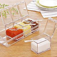 Набор для специй Cristal sea soning box