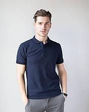 Мужская медицинская трикотажная футболка-поло размеры S - ХХL