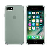 Чехол для iPhone 7/8 Silicone Case (Лучшая копия Apple) - светло-голубой