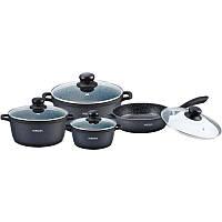 Набор посуды с мраморным покрытием 8 предметов Bohmann BH 6008 MRB
