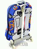 """Дитячий дорожній валізу на колесах """"Машинка"""" JO, фото 3"""