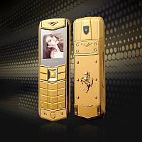 Мобильный телефон H-Mobile A8 (Mafam A8) gold. Vertu design