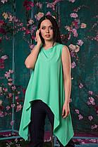 Восхитительная асимметричная блуза, фото 3