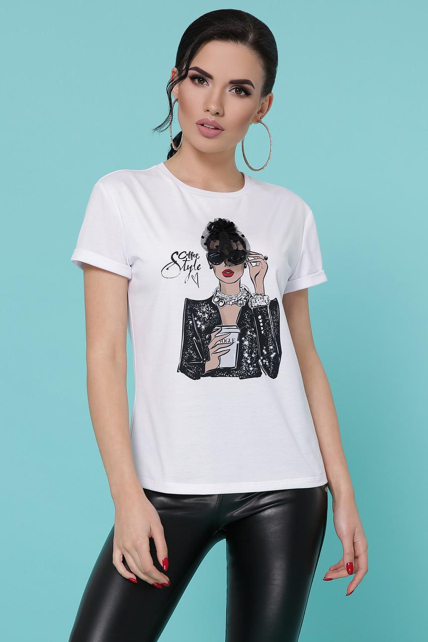 Кофе Vogue футболка Boy-2 C