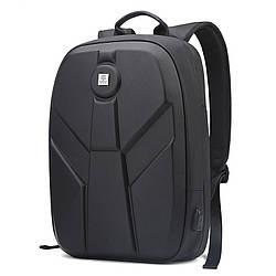 """Дизайнерский влагозащищенный 3D-рюкзак Arctic Hunter GB00321, для ноутбука 17"""", 23л"""