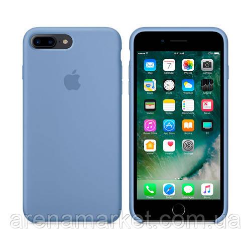 Чехол для iPhone 7/8 Plus Silicone Case (Лучшая копия Apple) - синий