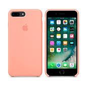 Чехол для iPhone 7/8 Plus Silicone Case (Лучшая копия Apple) - розовый