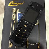 Мобильный телефон H-Mobile V1 (Hope V1)  black. Vertu design