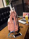 Рюкзак городской с юсб(usb) для ноутбука хаки Mojoyce (AV171), фото 8