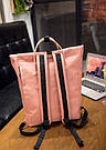 Рюкзак городской с юсб(usb) для ноутбука хаки Mojoyce (AV171), фото 5