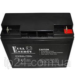 Full Energy FEP-1218 аккумуляторная батареяFE-18емкостью18Ah/20Hr