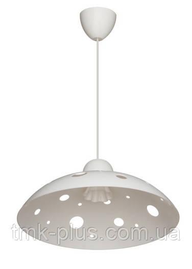Декоративний світильник ERKA 1302 стельовий 60 W білий Е27