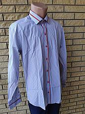 Рубашка мужская коттоновая брендовая высокого качества COLVIS, Турция, фото 2