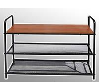 Полка-скамейка для обуви (ламинат)