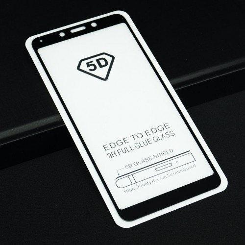 Защитное стекло 5D full glue для XIAOMI Redmi 6 - белый