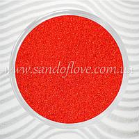 Красный цветной песок