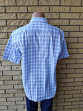 Рубашка мужская летняя коттоновая брендовая высокого качества ALPACHINOI, Турция, фото 3