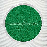 Зеленый (изумрудный) цветной песок