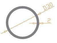 Труба круглая 30х2