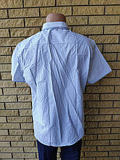 Рубашка мужская летняя коттоновая брендовая высокого качества DISIBELL, Турция, фото 3