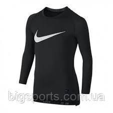 Кофта компрессионная дет. Nike Pro Cool Hbr Compression Ls (арт. 726460-010)