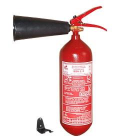 Огнетушитель углекислотный ОУ-2, ВВК-1,4