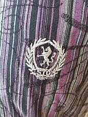 Рубашка мужская летняя коттоновая стрейчевая брендовая высокого качества COBRA, Турция, фото 3