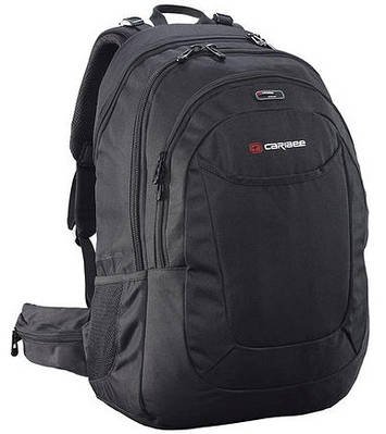 Компактный городской рюкзак 40 л. Caribee College 40 Xtend Black, 921287 черный