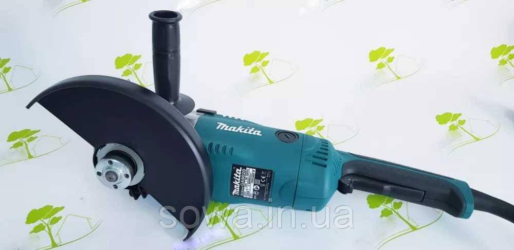 ✔️ Болгарка Makita GA 9020 с плавным пуском   2200Вт