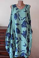 Платье женское штапельное без рукавов