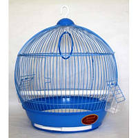 Клетка для птиц 308 39*42 см.бочонок золото Золотая Клетка