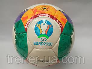 Мяч футбольный №5 PU ламин. EURO 2020