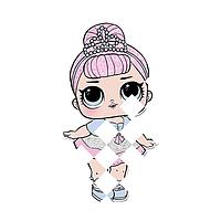 Картинки на гетры термо Кукла LOL [Свой размер и материалы в ассортименте]